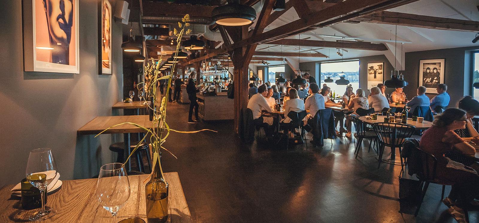 Restaurant Interior Dublin